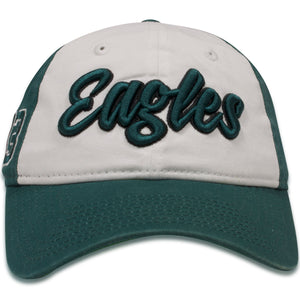 Philadelphia Eagles Women's Two-Tone Script 9Twenty Baseball Cap
