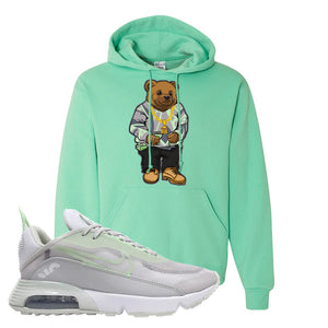 Air Max 2090 'Vast Gray' Hoodie | Cool Mint, Sweater Bear