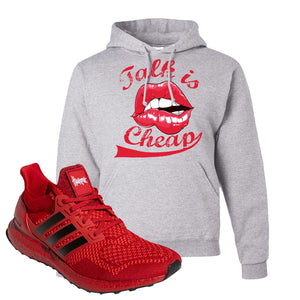 Ultra Boost 1.0 Nebraska Hoodie | Talk Is Cheap, Ash