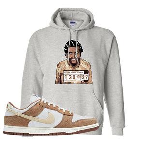 Dunk Low Medium Curry Hoodie | Escobar Illustration, Ash