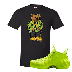Air Foamposite Pro Volt T Shirt | Sweater Bear, Black