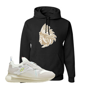 Air Max 720 OBJ Slip White Hoodie | Black, Indian Chief