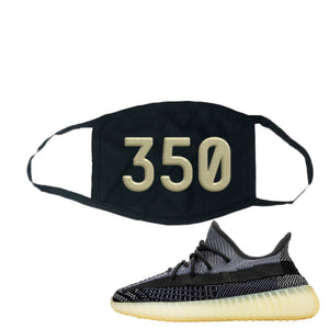 Yeezy Boost 350 V2 Asriel Carbon Face Mask | 350, Black