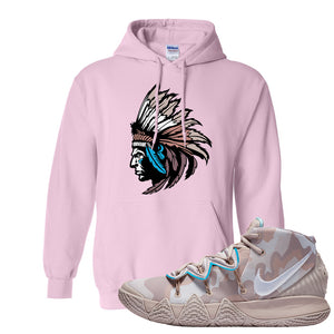Nike Kybrid S2 What The Inline Pullover Hoodie | Indian Chief, Light Pink