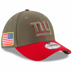 New York Giants 2017 On Field Salute To Service Stretch Fit Cap