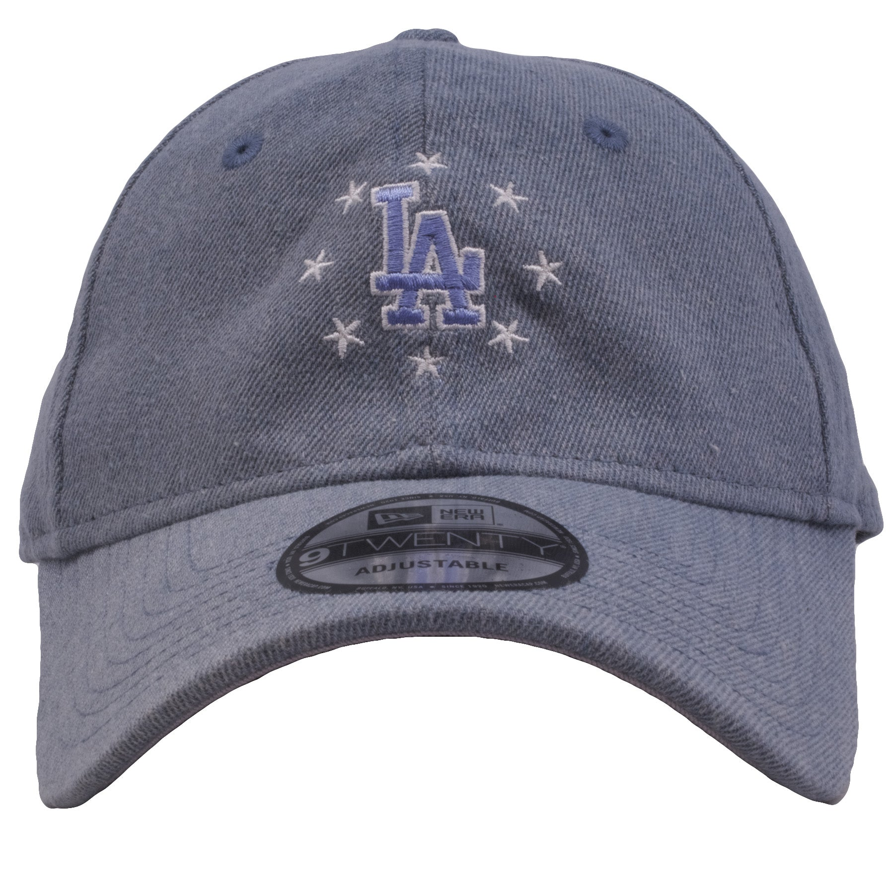 3c0c2875 Los Angeles Dodgers USA Pride Denim Adjustable Dad Hat