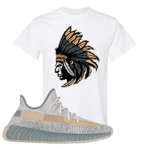 Yeezy Boost 350 V2 Israfil T Shirt | White, Indian Chief