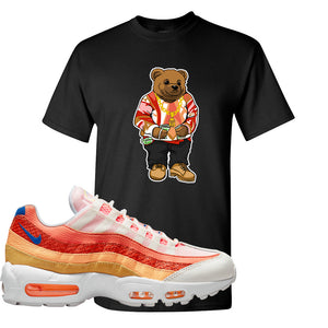 Air Max 95 Orange Snakeskin T Shirt | Sweater Bear, Black