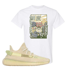 Yeezy Boost 350 V2 Flax T-Shirt | White, Attack of the Bear