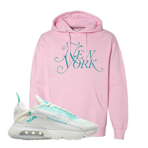 Air Max 2090 Pristine Green Hoodie | Light Pink, New York