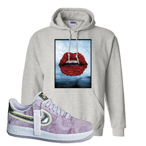Air Force 1 P[her]spective Hoodie | Ash, Rose Lips
