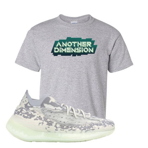 Yeezy Boost 380 Alien Another Dimension Sport Gray Sneaker Matching Kid's T-Shirt