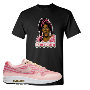 Air Max 1 Strawberry Lemonade T-Shirt | Oh My Goodness, Black