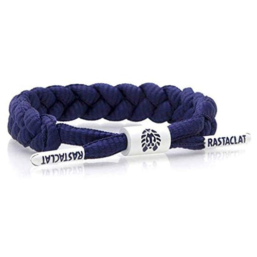 Rastaclat Indigo Braided Men's Shoelace Bracelet