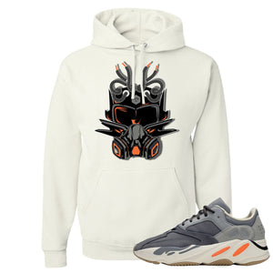 Yeezy Boost 700 Magnet Sneaker Mask White Sneaker Matching Pullover Hoodie