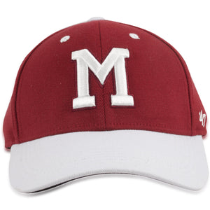 Montreal Maroons Two Tone Cardinal / Gray Flex Cap