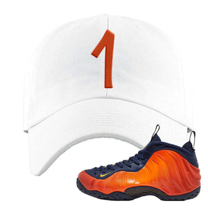 Foamposite One OKC Dad Hat | White, Penny One