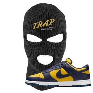 SB Dunk Low Michigan Ski Mask | Trap To Rise Above Poverty, Black
