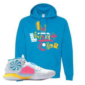 Kyrie 6 Blue Fury Hoodie | Sapphire, In Living Color