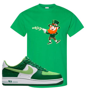 Air Force 1 Low St. Patrick's Day 2021 T Shirt | Leprechaun, Kelly