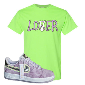 Air Force 1 P[her]spective T Shirt | Neon Green, Lover