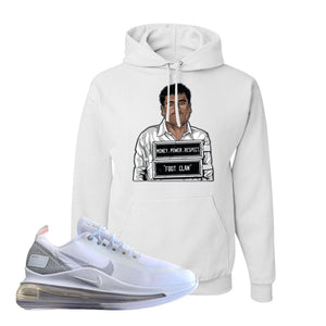 Air Max 720 Utility White Hoodie | White, El Chapo Illustration