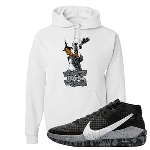 KD 13 Oreo Hoodie | Don't Hate The Playa, White