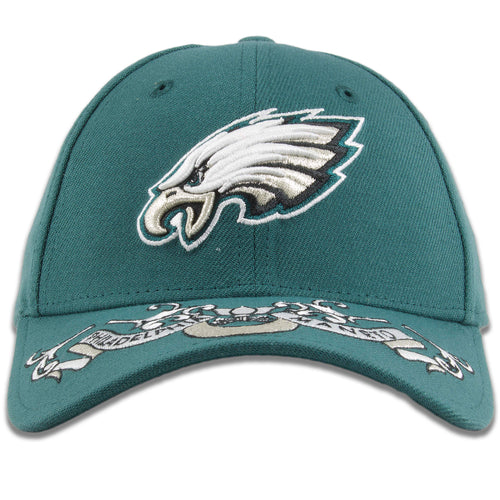 Philadelphia Eagles 2019 NFL Draft Team Color Midnight Green 39Thirty Flexfit Cap