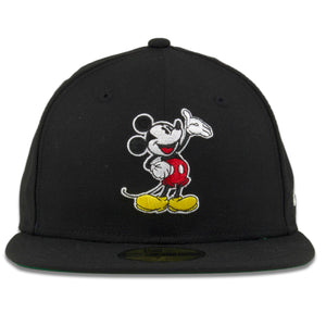 1928 Mickey Mouse 90 Year Anniversary Black New Era 59Fifty Fitted Cap