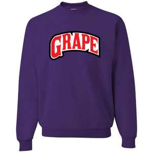 Backwoods Grape Deep Purple Crewneck Sweatshirt