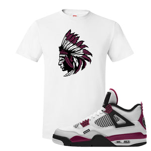 Air Jordan 4 PSG Paname T-Shirt | Indian Chief, White