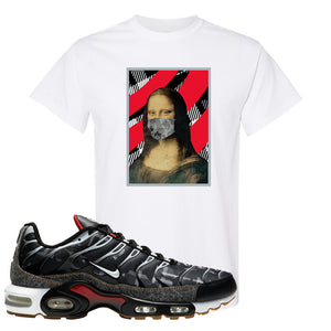 Air Max Plus Remix Pack T Shirt | Mona Lisa Mask, White