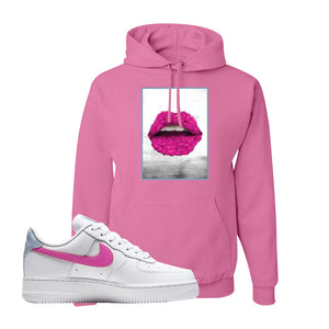 Air Force 1 Low Fire Pink Hoodie | Azalea, Rose Lips