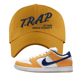 SB Dunk Low Laser Orange Dad Hat | Timberland, Trap To Rise Above Poverty