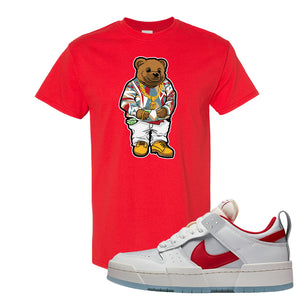 Dunk Low Disrupt Gym Red T Shirt | Sweater Bear, Red