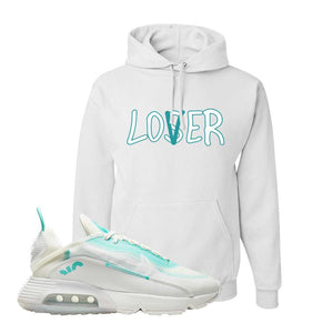 Air Max 2090 Pristine Green Hoodie | White, Lover