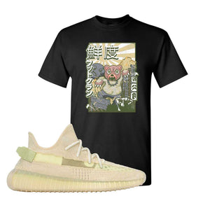 Yeezy Boost 350 V2 Flax T-Shirt | Black, Attack of the Bear