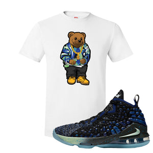 LeBron 17 Constellations T Shirt | Sweater Bear, White