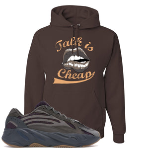 Yeezy Boost 700 Geode Sneaker Hook Up Talk Is Cheap Brown Hoodie