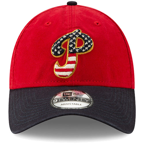 Philadelphia Phillies Stars and Stripes 2019 Fourth Of July On Field 9TWENTY Dad Hat