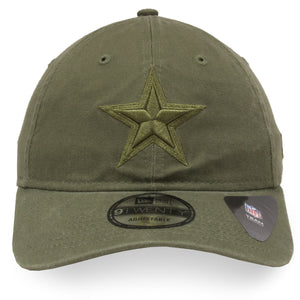 Dallas Cowboys Army Green Tonal 9Twenty Dad Hat