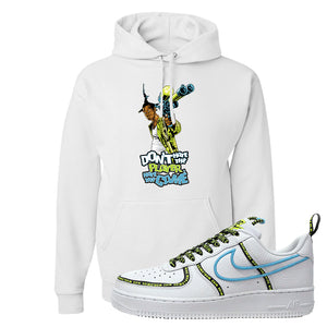 Air Force 1 '07 PRM 'Worldwide Pack' Hoodie | White, Don't Hate The Playa