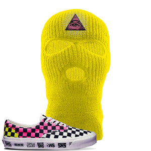 Vans Era Venice Beach Pack Ski Mask | Yellow, All Seeing Eye
