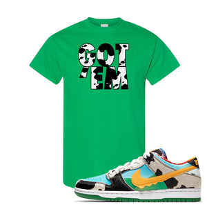 SB Dunk Low 'Chunky Dunky' T Shirt | Irish Green, Got Em