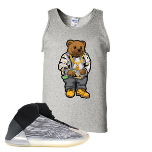Yeezy Quantum Tank Top | Ash, Sweater Bear