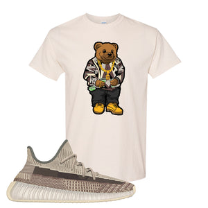 Yeezy 350 v2 Zyon T Shirt | Natural, Sweater Bear