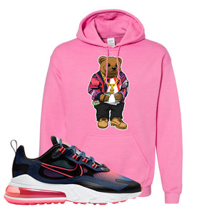 Air Max 270 React WMNS Storm Pink Pullover Hoodie | Sweater Bear, Azalea