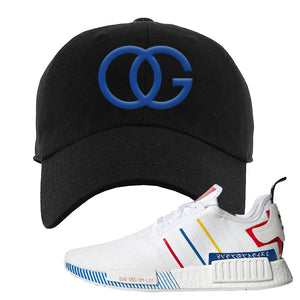 NMD R1 Olympic Pack Dad Hat | Black, OG