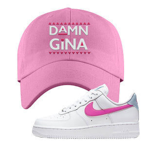 Air Force 1 Low Fire Pink Dad Hat | Pink, Damn Gina