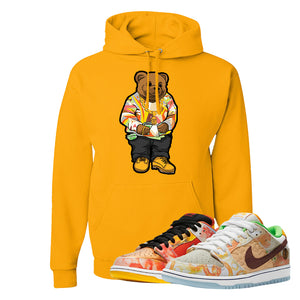 SB Dunk Low Street Hawker Hoodie | Sweater Bear, Gold